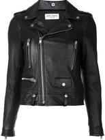 Saint Laurent heart studded classic moto jacket