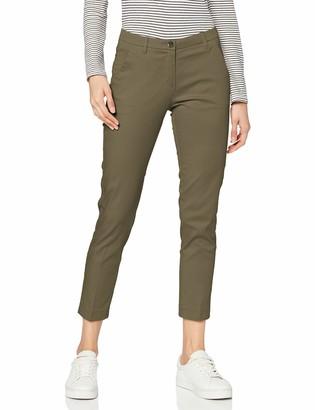 Sisley Women's Pantalone Chino Trouser
