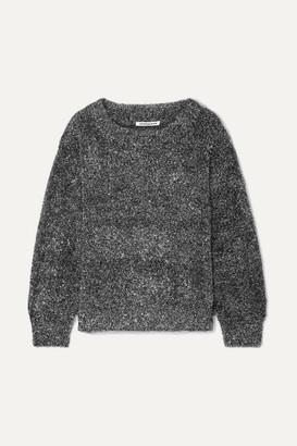 Georgia Alice Tinsel Lurex Sweater - Silver