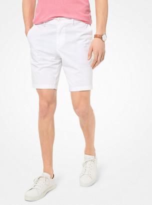 Michael Kors Washed Poplin Shorts - Midnight