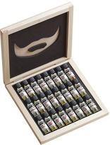 Wooden 24 Beard Oil Sampler Gift Box Set
