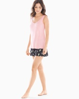 Soma Intimates Tank with Shorts Pajama Set