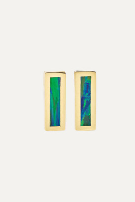 Jennifer Meyer 18-karat Gold Opal Earrings
