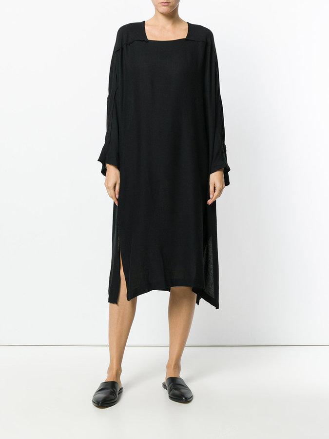 Black Crane Dome dress