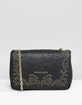 Versace Baroque Style Studded Shoulder Bag