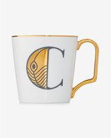 Express Rosanna C Initial Mug