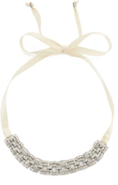 Ben-Amun Link Crystal Choker Necklace
