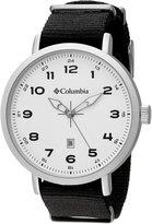 Columbia Men's CA023-001 Fieldmaster III Analog Display Quartz Black Watch