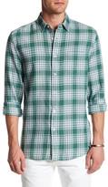Topman Plaid Long Sleeve Shirt