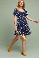 Maeve Fern Ruched Dress