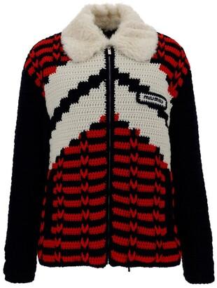 Miu Miu Crochet Puffer Jacket