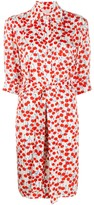 Victoria Victoria Beckham cherry-print shirt-dress