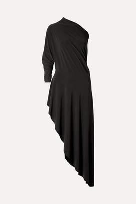 Norma Kamali Convertible Stretch-jersey Maxi Dress - Black