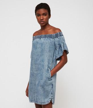 AllSaints Adela Tencel Dress