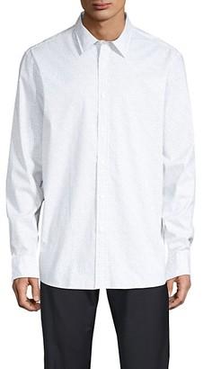 Michael Kors Classic-Fit Printed Shirt