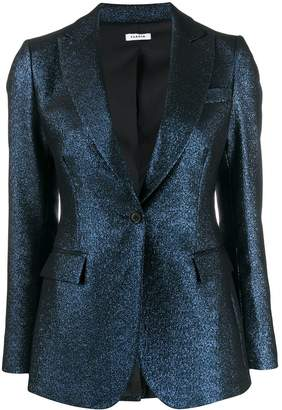 P.A.R.O.S.H. metallic single breasted jacket