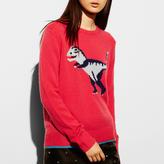 Coach T-Rex Intarsia Sweater