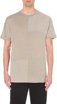 Helmut Lang Panelled jersey t-shirt