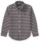 Ralph Lauren Childrenswear Plaid Cotton Oxford Button-Down Shirt