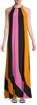 Diane von Furstenberg Kristine Silk Maxi Dress