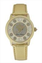 Paris Hilton Women's PH.13181JSG/04 Fame Pave Glitter Gold Leather Watch