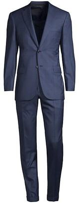 Brioni Plaid Wool Suit