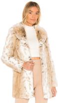 Majorelle Tatiana Faux Fur Coat