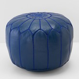Bloomingdale's Moroccan Prestige Leather Pouf