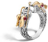 John Hardy Legends Naga 18K Gold & Silver Ring