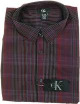 Calvin Klein Men's Long Sleeve Plaid Woven Shirt (/)