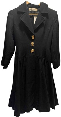 Lanvin Black Coat for Women Vintage