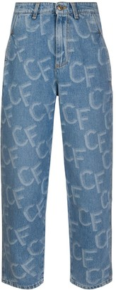 Chiara Ferragni slouchy fit jeans
