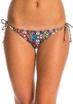 Motel La Boheme Sherbet Tie Side Bikini Bottom 8135436