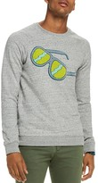Scotch & Soda Sunglasses Graphic Sweatshirt