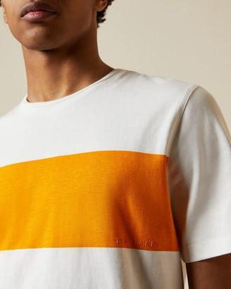 Ted Baker Cotton Chest Stripe T-shirt