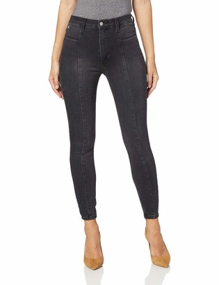 Calvin Klein Jeans Women's Seamed HIGH Rise Super Skinny A Straight Jeans