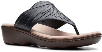 Clarks Phebe Pearl Women's Leather Thong Sandals