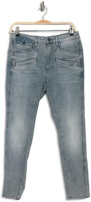 Dadin 3D Low Pocket Ankle Crop Boyfriend Jeans