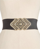INC International Concepts Trio Interlock Stretch Belt, Only at Macy's