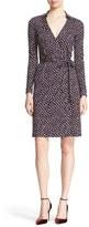 Diane von Furstenberg Women's New Jeanne Two Silk Wrap Dress