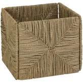 Honey-Can-Do Folding Seagrass Storage Basket