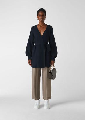 Fashion Detail Wool Cardigan