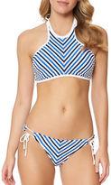 Jessica Simpson Maritime Bikini Top