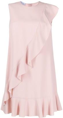 RED Valentino ruffle detail dress