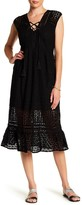 Jets Crochet Lace Maxi Dress
