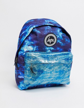 Hype backpack in ocean glitter