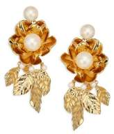 Kate Spade Lavish Blooms Statement Earrings