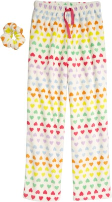 Tucker + Tate Kids' Fleece Pajama Pants with Scrunchie