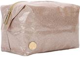 Mi-Pac Glitter Wash Bag, Champagne