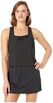 Nike Sport Mesh Reversible Layered Dress Cover-Up (Black) Women's Swimwear